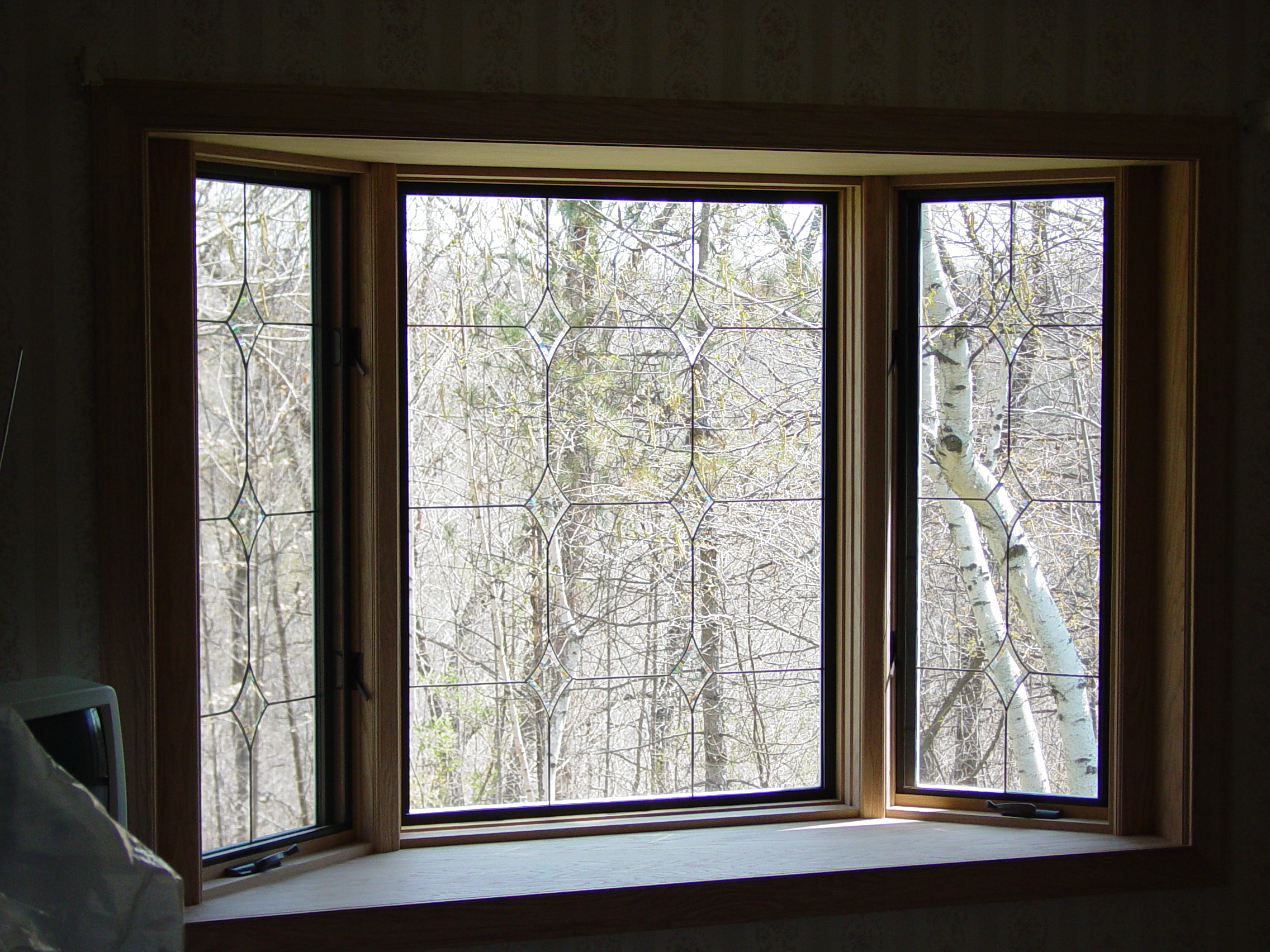 Bay window interior 1 quality window specialists inc for Quality windows