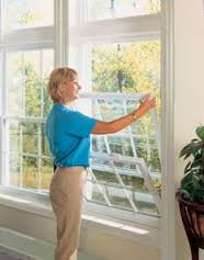 Double-Hung Windows are easy to clean and maintain.